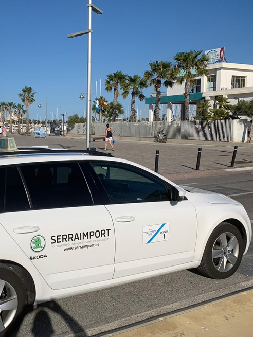 taxi en puerto santa pola